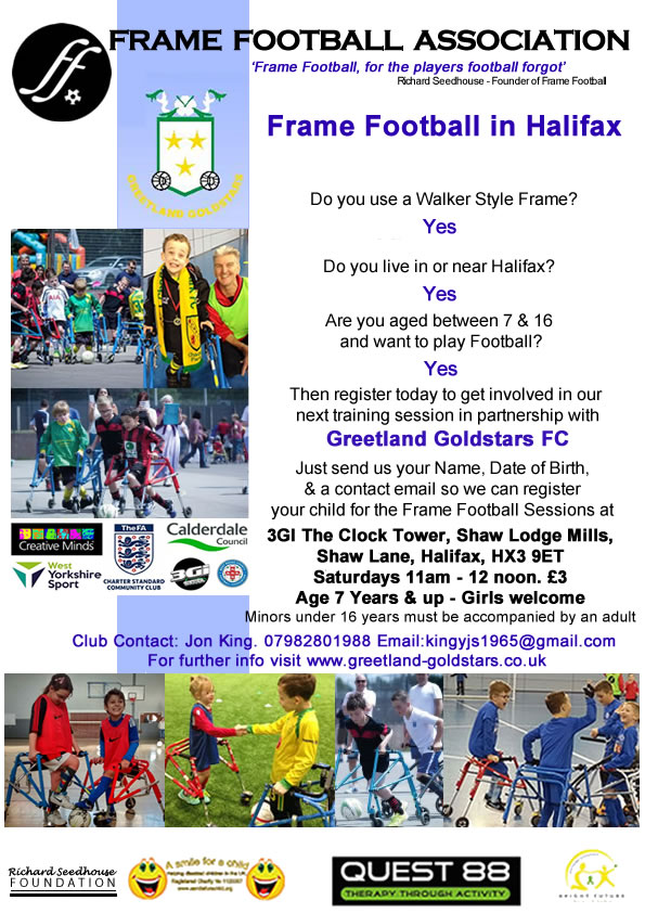 Greetland FF Flyer